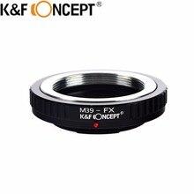 Крепление объектива переходное кольцо для M39 для Leica винт объектив Fuji X-Pro1/X-E1/X-M1 Камера m39-fx