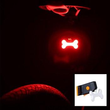 Multi Lighting Modes, Bicycle Light, USB Charge Led Bike Light Flash Tail Rear 9