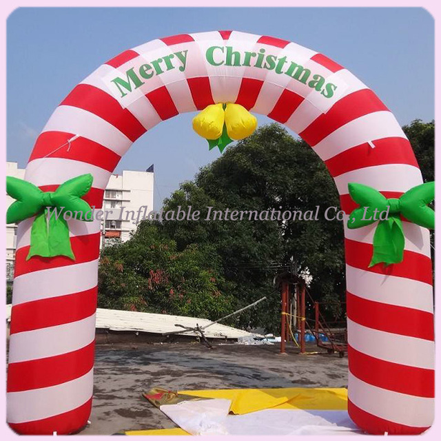 10ft inflatable christmas archway christmas decoration arch christmas events gatedoor arch