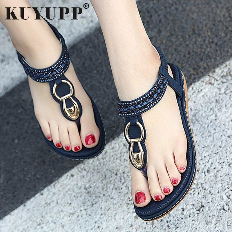 d4c8f5703597 ... Bohemian Diamond Slippers Woman Flats Flip Flops Shoes Summer Beach  Sandals size10 YDT563. שמור מוצר. gallery image
