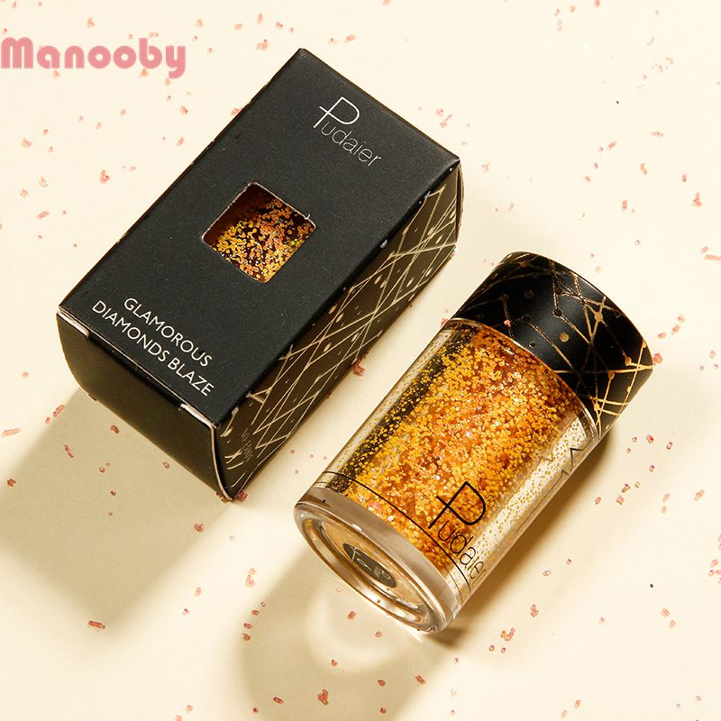 Manooby Glitter Maquiagem Shining Eyeshadow Shimmer Glitter Makeup High Pigment Powder Glitters Sequined Eye Shadow Cosmetics Catalogues Will Be Sent Upon Request Beauty & Health Beauty Essentials