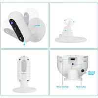 Office Baby Monitor Remote Control Home High Resolution WIFI Two Way Audio Wireless Video Portable Fisheye Lens Night Vision