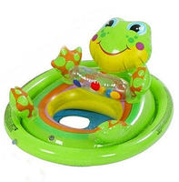 Animal Shape Swimming Rings Kid Swimming Seat Ring Inflatable Aid Trainer Children Float Water For Kids 3-5 Years Old