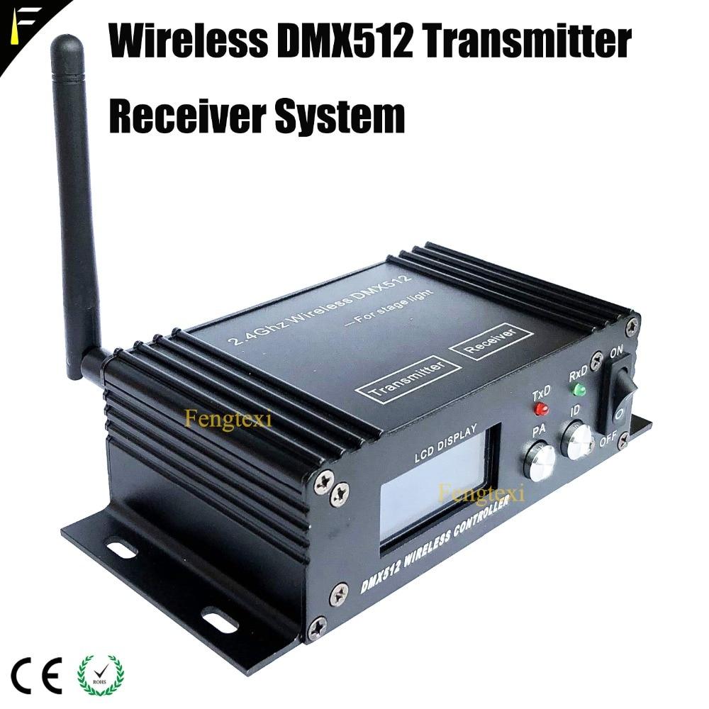 Émetteur-récepteur DMX 2.4 GHz émetteur sans fil récepteur système d'affichage dispositif d'éclairage de scène répéteur de Console sans fil dmx512