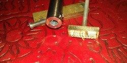 Nouveau personnaliser le moule de fer de timbre en laiton chaud avec le Logo, chauffage de moule personnalisé sur le bois/cuir, cadeau de bricolage de ligue, conception personnalisée