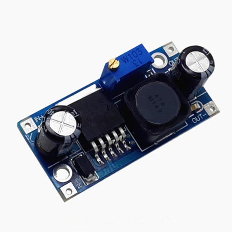 1pcs LM2596S LM2596 LM2596 ADJ DC-DC Step-down module 5V/12V/24V adjustable 3A стоимость