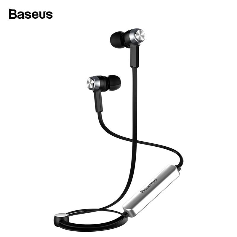 Baseus B11 Magnet Drahtlose Bluetooth Kopfhörer Sport V4.1 Bluetooth Headset Kopfhörer Mit Mic Stereo Earbuds Für iPhone Xiaomi