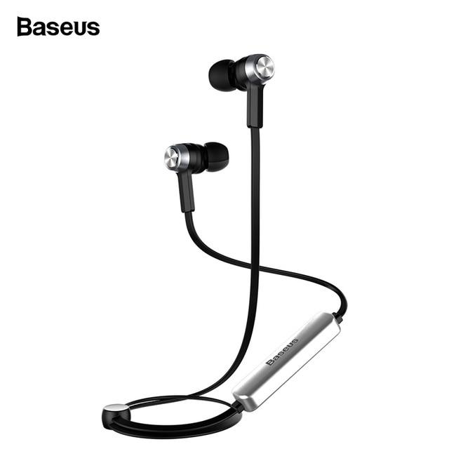 842bf5002d3 Baseus B11 Magnet Wireless Bluetooth Earphone Sport V4.1 Bluetooth Headset  Headphone With Mic Stereo