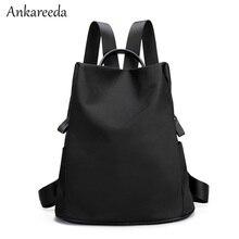 Новинка 2017 Сумка Женская корейский водонепроницаемый Оксфорд школьные рюкзаки для девочек-подростков дамы дизайнер моды дорожные сумки