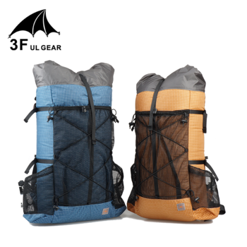3F UL GEAR TUTOR 26L 38L Ultralight Frameless Backpack