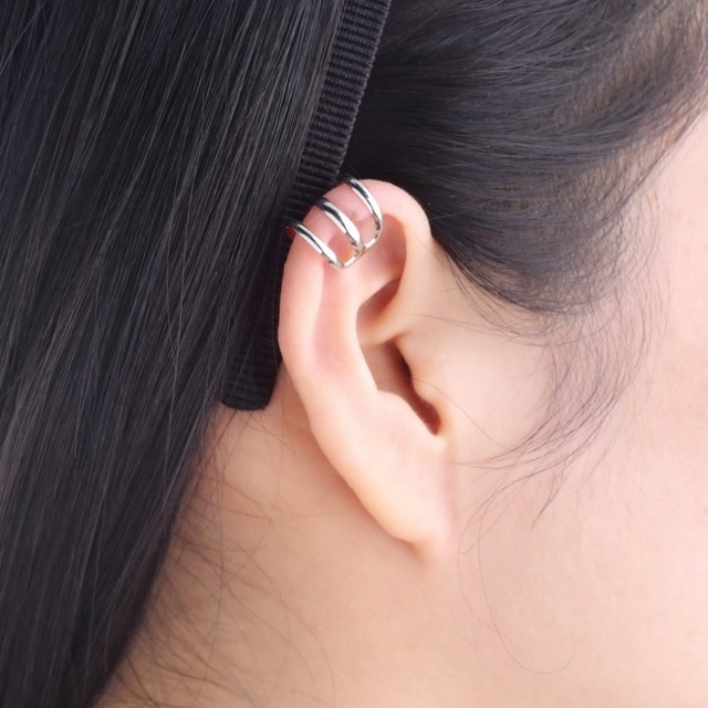 Brand New Punk Rock Ear Cuff Clipe Envoltório Brincos Sem perfurar-Clip em Prata Bronze Ouro Dos Homens Das Mulheres Do Partido jóias