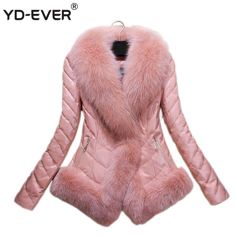 Fourrure Noir De Le Hiver Luxe black Automne Femmes Grey Bas Faux Fur Vers Femme pink Manteau Yd black ever Cuir Court White En Veste Broderie With xn0Y7aq8w