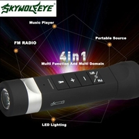 DC 23 Shining Hot Selling Drop Shipping Wireless Sport Bluetooth Speaker Outdoor Camping Multi Function Flashlight