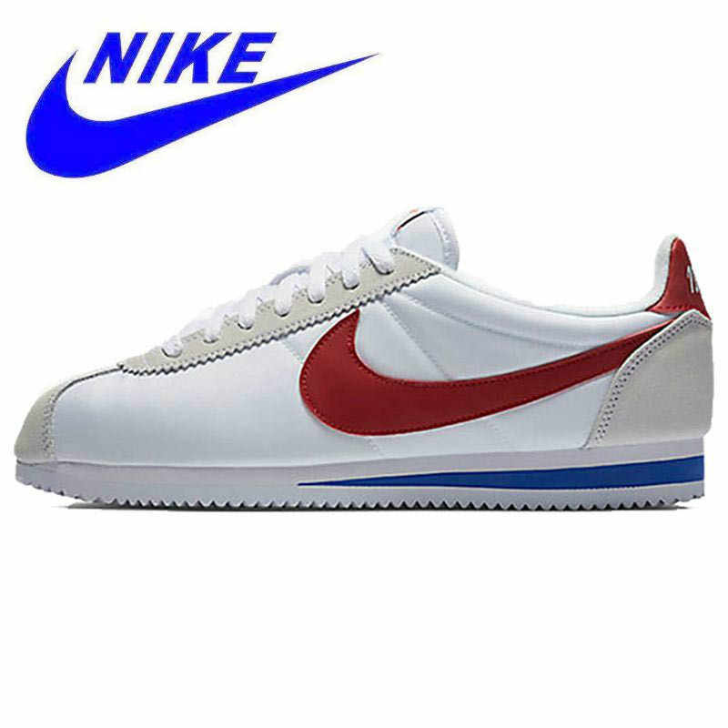 4bd29ffee Original New Arrival Offical Nike CLASSIC CORTEZ Waterproof Women s Running  Shoes Sports Sneakers Trainers Non-