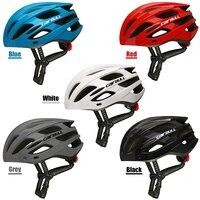 Mountain road bicicleta capacete com luz de segurança removível viseira óculos ciclismo capacete de segurança para estrada mountain bike