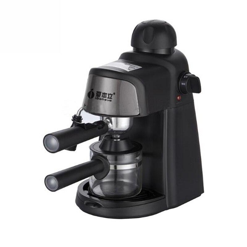 Italian American Coffee Machine Semi-automatic 5bar Pump Pressure Household Commercial Milk Foam Machine CM6810 цена и фото