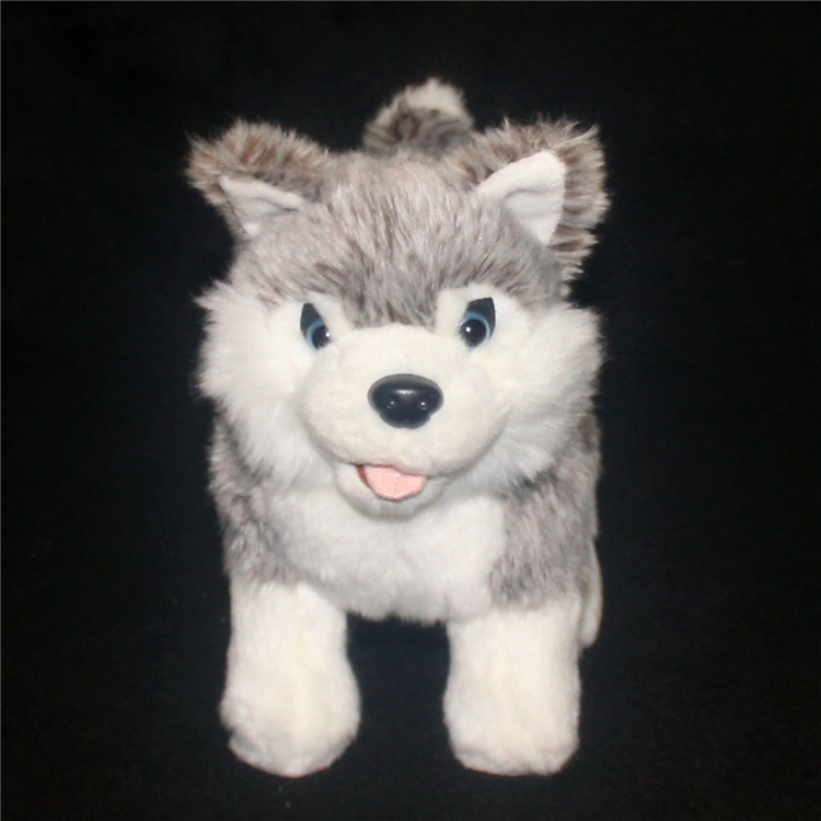 Cute Husky Plush Doll Toy Simulation Dogs Child Toys Pillow Gift Stand Huskies Dolls