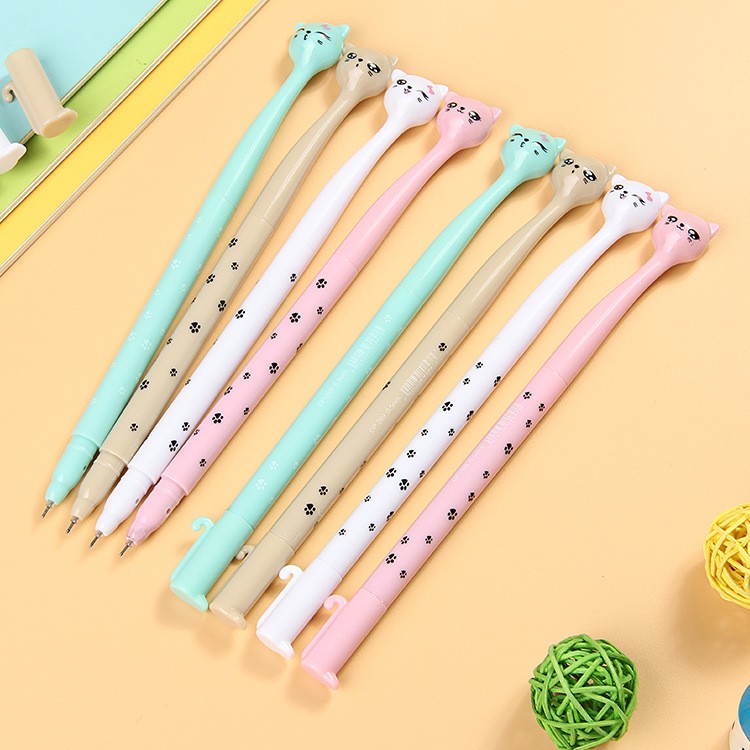 12 шт. очаровательны кошка ручка Baby Shower вечере сувенир Дети День рождения питания Вернуться подарок для мальчиков и девочек