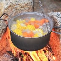 Keith 2.5L Stockpot Titanium Pot Outdoor Camping Hiking Traving Hunting Picnic Cookware Hanging Pot Lightweight 350g Ti6018