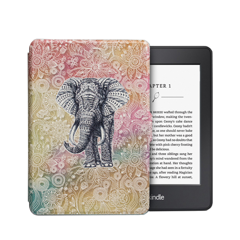 Print Case for Amazon Kindle Paperwhite 1/2/3 Capa Para PU Leather Ultra Slim Anti-Dust Case for Kindle Paperwhite 123 + HD Film slim nylon sleeve pouch case for kindle paperwhite 123 voyage 7th 8th gen pocketbook 622 623 e reader sleeve case 6