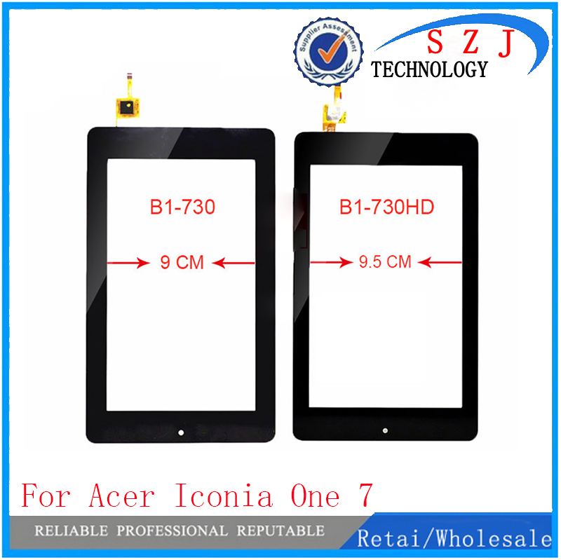 New 7'' inch case For Acer Iconia One 7 B1-730 B1-730HD TESTED Touch screen Panel Digitizer Replacment Free shipping free shipping new 7 inch black touch screen with digitizer replacment for asus memo pad hd 7 me173 me173x k00b k00u