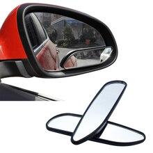 1 คู่ YASOKRO กระจกมองหลังกว้างมุมกระจกปรับนูนมุมมองด้านหลังกระจกรถสำหรับยานพาหนะทั่วไป