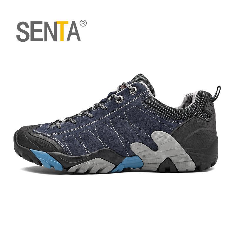 SENTA Large Size 36 45 46 47 Men Hiking Shoes Winter Anti skidding Trekking Shoes Lovers