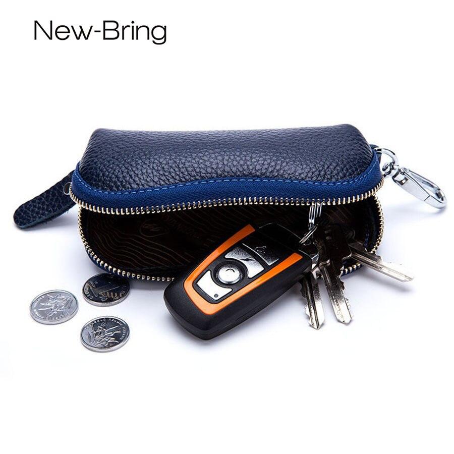 moeda bolsa chave para mulheres Material Principal : Couro Genuíno