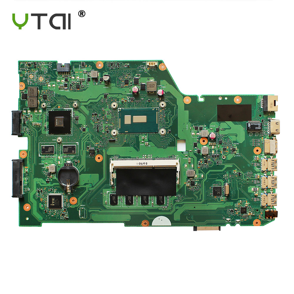 YTAI Original For ASUS X751L K751L K751LN X751LK X751LD REV 2.5 I5-5200U laptop notebook motherboard DDR3 HM86 N16V-GM-B1 x751ld motherboard rev 2 0 i7 4710 cpu 4gb ram for asus x751ln x751lj k751l x751ld laptop motherboard x751ld mainboard 100% ok
