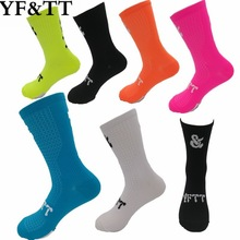 YF&TT New Cycling Socks Men Women Professional Brand Breathable Sports Bike Top Quality Outdoor Running Racing