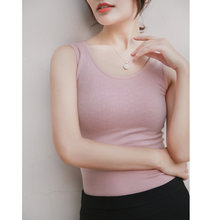 Winter Warm Camisole Tanks Slim Singlet Women Camisoles Black Womens Tops and Blouses Female Camiseta Interior Mujer ZL1288(China)