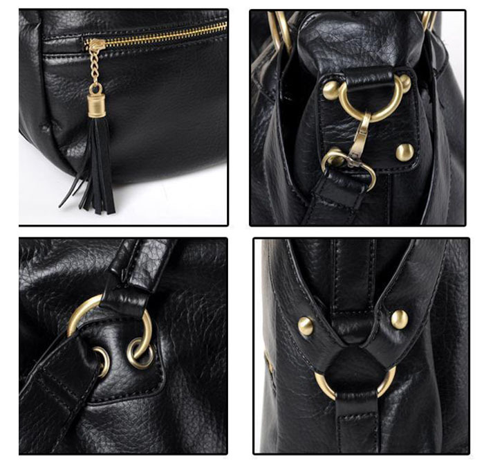 Xiniu 2017 new handbag Women Lady PU Leather Hobo Style Hbag Shoulder Bag with Strap women Messenger bags #0