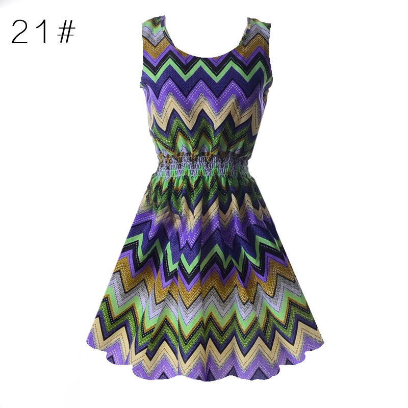 Sexy Vestidos Sleeveless Sundress Women Party Dresses Summer Beach Floral Tank Mini Dress XXL Vestidos Dresses For Women