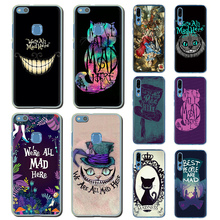 We're All Mad Here Hard phone cover for Huawei Honor 6A 6C 7