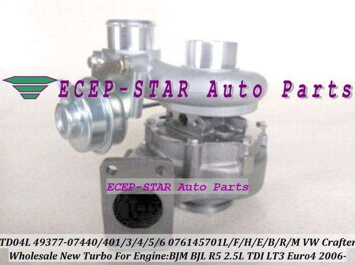 TD04L4 49377 07440 49377 07404 49377 07405 076145702AX 076145701H Turbo For Volkswagen VW Crafter 06 BJM BJL R5 LT3 2.5L 136HP