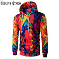 New Men Hoodies Tracksuit Fashion 3D Digital Print Design Casual Hooded Pullover Colorful Man Hoody Sweatshirt Slim Mens Hoodie