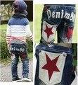 DKZ075 2013 Бесплатная доставка новое прибытие детей джинсы брюки для детей мода мальчик девушки брюки розничная