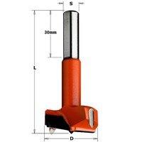 CMT 370.200.12 Broca para dobradiças HM 20 Diam x 77 s 10x30 SX|Acessórios para ferramenta elétrica| |  -