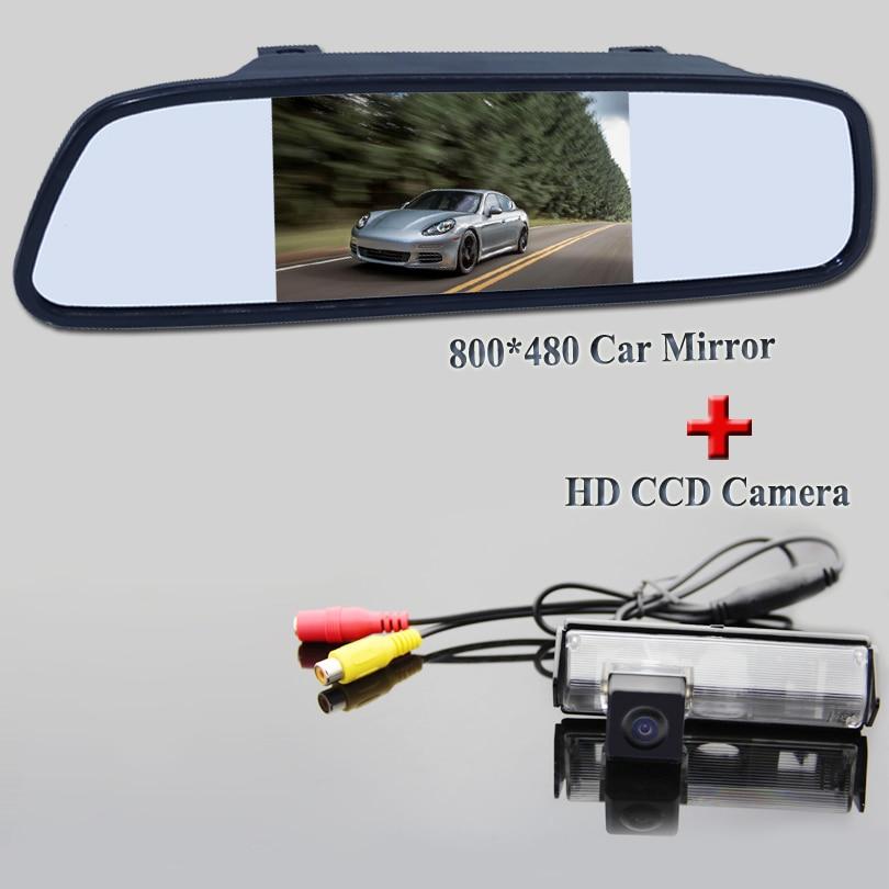 Color Car Rear View Camera for Mitsubishi Challenger/For Grandis Nativa /For Pajero Sport +4.3 Inch Rear view Mirror Monitor