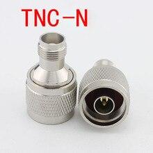 5 unids RF TNC Adaptador/N-KJ Conector TNC Hembra A Su Vez N Macho Conector de Conversión Para walkie-talkie/interfono