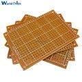 5PCS Universal PCB Board 50x70mm 2,54mm Loch Pitch DIY Prototyp Papier Printed Circuit Board Panel 5x7 cm Einseitig Bord