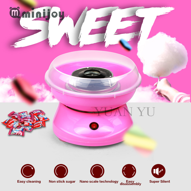 cotton candy maker machine electric diy sweet mini portable cotton suager for children girl boy - Cotton Candy Machines