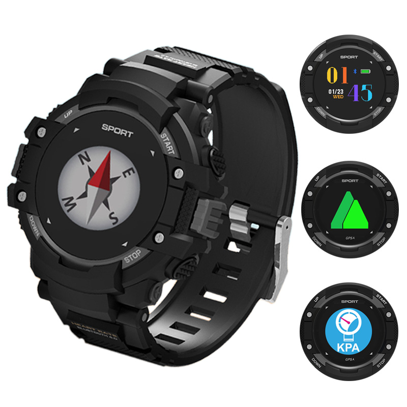 Sports GPS Smart Watch Men Women Compass Fitness Pedometer Swimming Heart Rate Monitor Altimeter Bluetooth Outdoor GPS Watch pedometer heart rate monitor calories counter led digital sports watch skmei fitness for men women outdoor military wristwatches