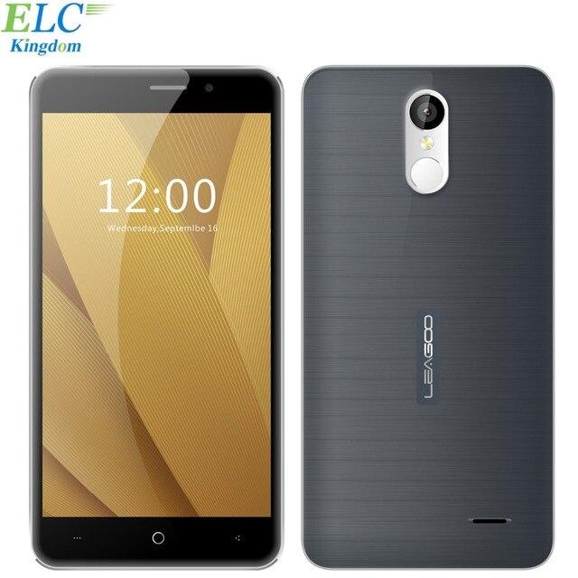 Оригинал Leagoo M5 Плюс Противоударный Смартфон Android 6.0 5.5 ''MT6737 Quad Core 2 ГБ + 16 ГБ Dual SIM Отпечатков Пальцев 4 Г Мобильный Телефон