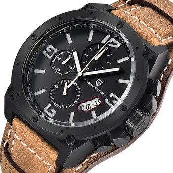f6db6dd97020 Relojes de moda de diseño único de marca de diseño PAGANI para hombre