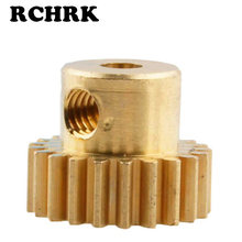 RC auto Messing Pinion Motor Gear (21 T,. 6 module) Deel 11151 voor HSP Redcat Racing FL(China)