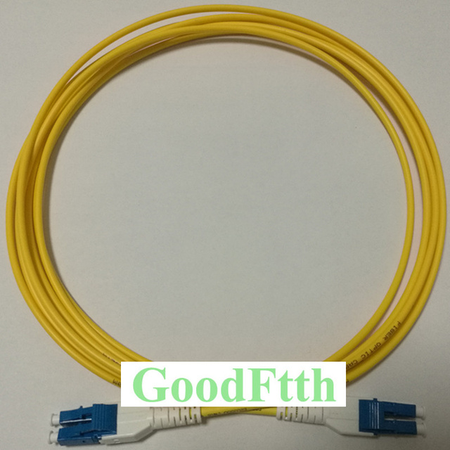 Fiber yama kablosu LC LC UPC Uniboot SM dubleks GoodFtth 20 50m 10 adet/grup