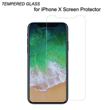 2000x Ultra Thin 2.5D Premium Tempered Glass Screen Protector for iPhone X screen glass Film iphonex front cover wholesale