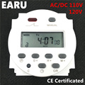 CN101A Timer Switch AC/DC 110V 120V Digital LCD Power Weekly Mini Programmable Time Switch Relay 8A to 16A Factory Wholesale Hot