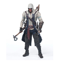 Assassins Creed 4:Black Flag Games Figurine Connor 15cm PVC Model Figma Assassin Creed Hidden Blade Nendoroid Toy For Collection